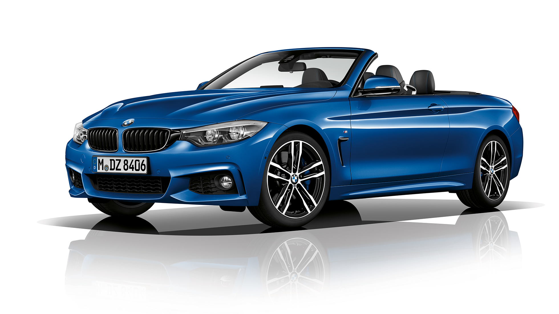 BMW 4 Series Convertible, Model M Sport three-quarter front shot