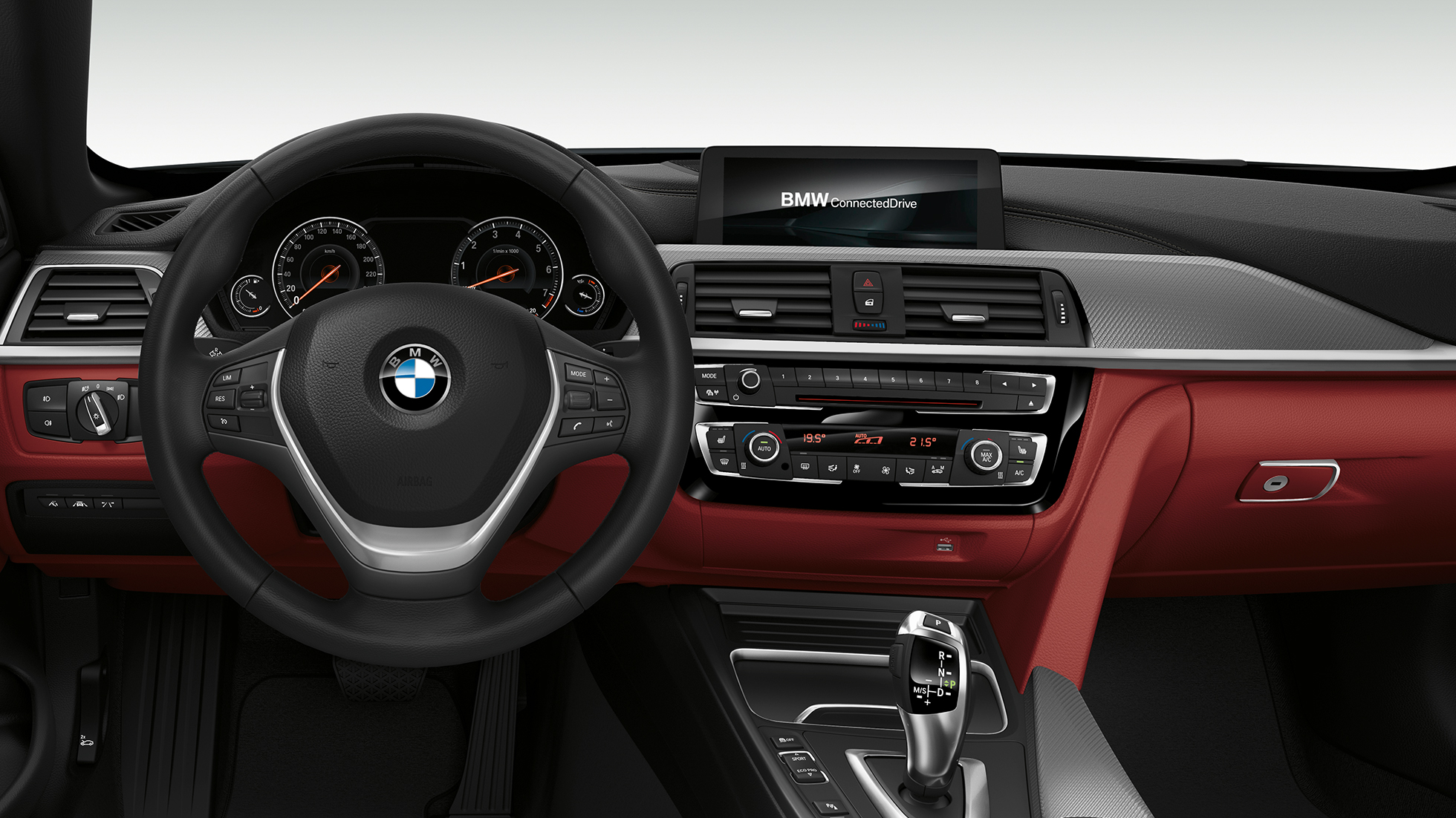 BMW 4 Series Convertible, Model Sport Line cockpit