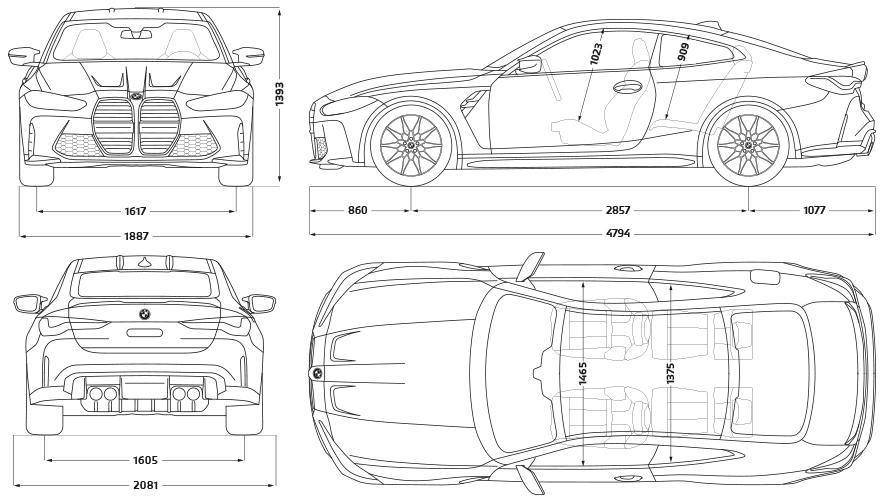 THE M4. BMW 4 Series Coupé M Automobiles: Engines ...